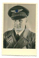 III. Reich Portraitfoto, Bordfunker der zivilen Luftfahrt