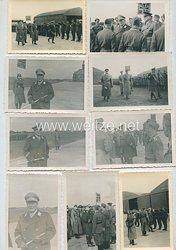 Luftwaffe Fotogruppe, Generalfeldmarschall Hermann Göring besucht einen Flugplatz