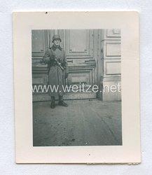 Wehrmacht Heer, Soldat mit Stielhandgranaten