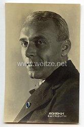 III. Reich - Portraitpostkarte von Hans Schemm - Gauleiter Bayerische Ostmark