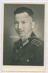 Wehrmacht Heer Portraitfoto, Soldat der Infanterie