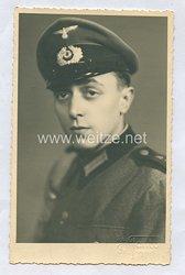 Wehrmacht Heer Portraitfoto, Soldat in einem Schützenregiment