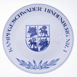 """Ehrenschale aus Meißner Porzellan des""""Kampfgeschwader Hindenburg"""""""