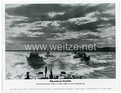 """III. Reich - gedrucktes Pressefoto """" Reichsminister Speer an der Polarfront """" 17.2.1944"""
