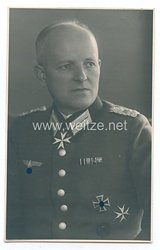 Wehrmacht Heer Portraitfoto eines Majors und Ehrenritters des Johanniter-Ordens