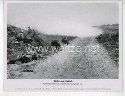 """III. Reich - gedrucktes Pressefoto """" Dicht am Feind """" 21.9.1942"""