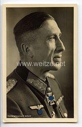 Heer - Portraitpostkarte von Ritterkreuzträger Generalleutnant Ludwig Wolff