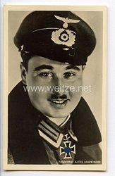 Heer - Portraitpostkarte von Ritterkreuzträger Feldwebel Alois Lehrkinder