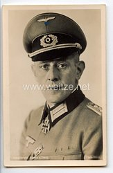 Heer - Portraitpostkarte von Ritterkreuzträger Hauptmann Alfons König