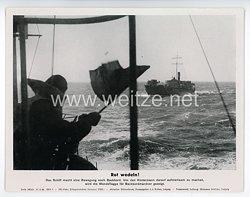 "III. Reich - gedrucktes Pressefoto "" Rot wedeln! "" 27.6.1944"