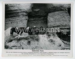"III. Reich - gedrucktes Pressefoto "" Italienische Front "" 26.4.1944"
