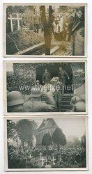 Luftwaffe Fotos, Beerdigung eines Soldaten