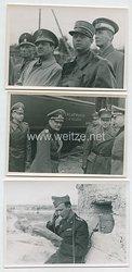 Wehrmacht Heer Pressefotos, Deutsche und rumänische Soldaten