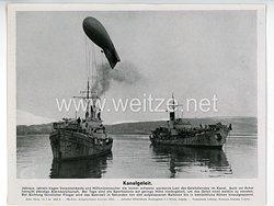 """III. Reich - gedrucktes Pressefoto """" Kanalgeleit """" 30.5.1944"""