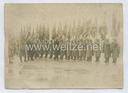 Weimarer Republik Pressefoto, Paul von Hindenburg besucht die Reichswehr