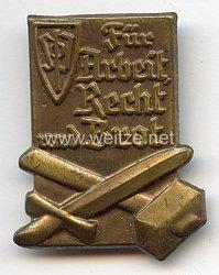 III. Reich - Sudetendeutsche Partei ( SdP ) - Für Arbeit, Recht und Brot