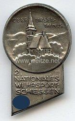 III. Reich - 2. Nationales Wehrsportschiessen Oberursel Taunus