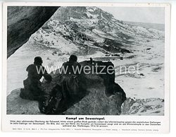 "III. Reich - gedrucktes Pressefoto "" Kampf um Sewastopol "" 15.12.1941"