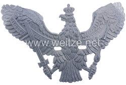 Preußen feldgrauer Helmadler für eine Pickelhaube Mannschaften der Garde-Ulanen-Regimenter