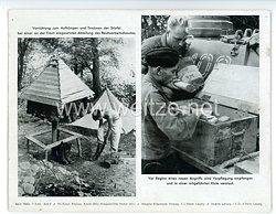 """III. Reich - gedrucktes Pressefoto """" Vor beginn eines neues Angriffs """" 7.9.1942"""
