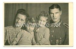 Wehrmacht Heer Foto, Unteroffizier mit Reichssportabzeichen in Bronze und Silber