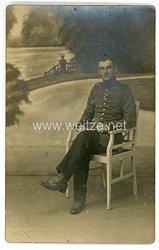 Deutsches Heer Foto, Gefreiter mit Verwundetenabzeichen