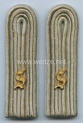 Wehrmacht Heer Paar Schulterstücke für einen Leutnant der Infanterieschule