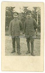 Deutsches HeerFoto, Feldwebel mit Verwundetenabzeichen in Schwarz