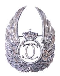 Königreich Rumänien König Carol II. - Abzeichen für Beobachter, Modell 1931-1940