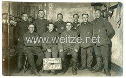 Deutsches Heer Gruppenfoto, Soldaten vom Feldartillerie-Regiment 20.