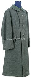 1. Weltkrieg Braunschweig feldgrauer Mantel (Einheitsmantel) M 1915 für einen Soldaten im Braunschweigischen Infanterie-Regiment Nr. 92