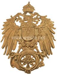 Deutsches Reich 1871 - 1918 Wappen für den Hut eines Postillons