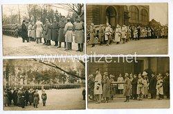 Weimarer Republik Fotos, Paul von Hindenburg bei einem Staatsbegräbnis