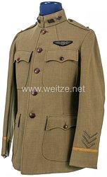 USA 1. Weltkrieg Feldbluse für einen Leutnant und Flieger des United States Army Air Service