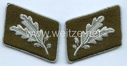 SA Paar Kragenspiegel für einen Oberführer der SA Gruppe Mittelrhein