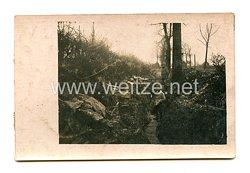 1. Weltkrieg Deutsches Heer Foto, Soldaten im Schützengraben