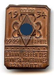 HJ - I. Banntreffen des Bannes & Jungbannes B24 Fürth 27.-29. April 1934