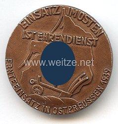"""HJ / Reichsstudentenführung - Ernteeinsatz in Ostpreussen 1939 """" Einsatz im Osten ist Ehrendienst """""""