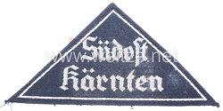 """Bund Deutscher Mädel (BDM) Gebietsdreieck """"Südost Kärnten"""""""
