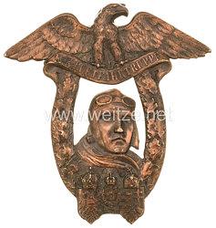 Österreich 1. Weltkrieg Fliegertruppe Abzeichen für die Absolventen der Militär-Flugzeugführerschule Wiener Neustadt