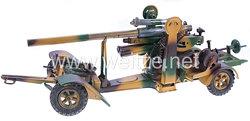 Blechspielzeug - 8,8 Flak mit Protze Hausser 1230