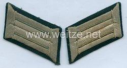 Kriegsmarine Paar Kragenspiegel für Offiziere der Küstenartillerie