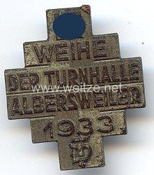 III. Reich - Weihe der Turnhalle Albersweiler 1933