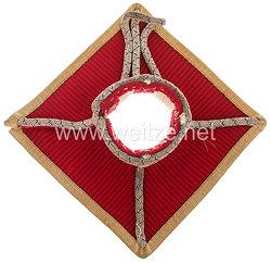 Bayern Paraderabatte für die Tschapka für Offiziere im 1. Ulanen-Regiment Kaiser Wilhelm II., König von Preußen
