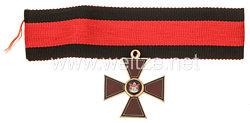 Kaiserlich russischer St. Wladimir Orden, Kreuz4. Klasse - Reduktion