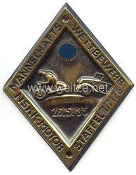 """NSKK - nichttragbare Teilnehmerplakette - """" NSKK-Motorstaffel II/M73 Mannschaftswettbewerb 26.5.1935 """""""