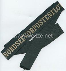 Kaiserliche Marine Mützenband Nordseevorpostenflottille