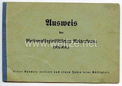 Nationalsozialistisches Reiterkorps ( NSRK ) - Ausweis
