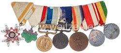 Japan, Ordensspange für einen Soldaten der Japanischen Armee im Russisch-Japanischen Krieg und später Ersten Weltkrieg