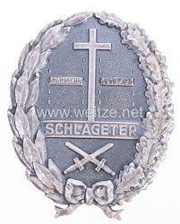 Schlageter-Schild, 2. Form,